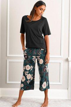 s.oliver bodywear capripyjama zwart