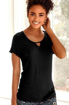 s.oliver bodywear t-shirt zwart