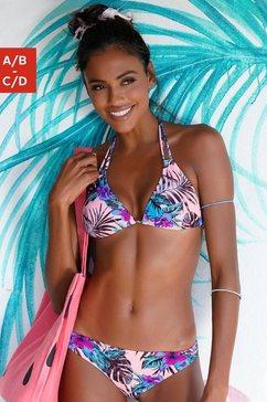 venice beach bikinitop in triangelmodel »marly« roze