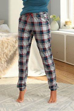 s.oliver bodywear pyjamabroek wit