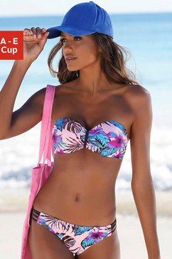 venice beach bandeaubikinitop »marly« roze