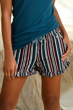 s.oliver bodywear pyjamashort blauw