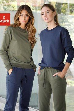 vivance active sweatshirt (set van 2) multicolor