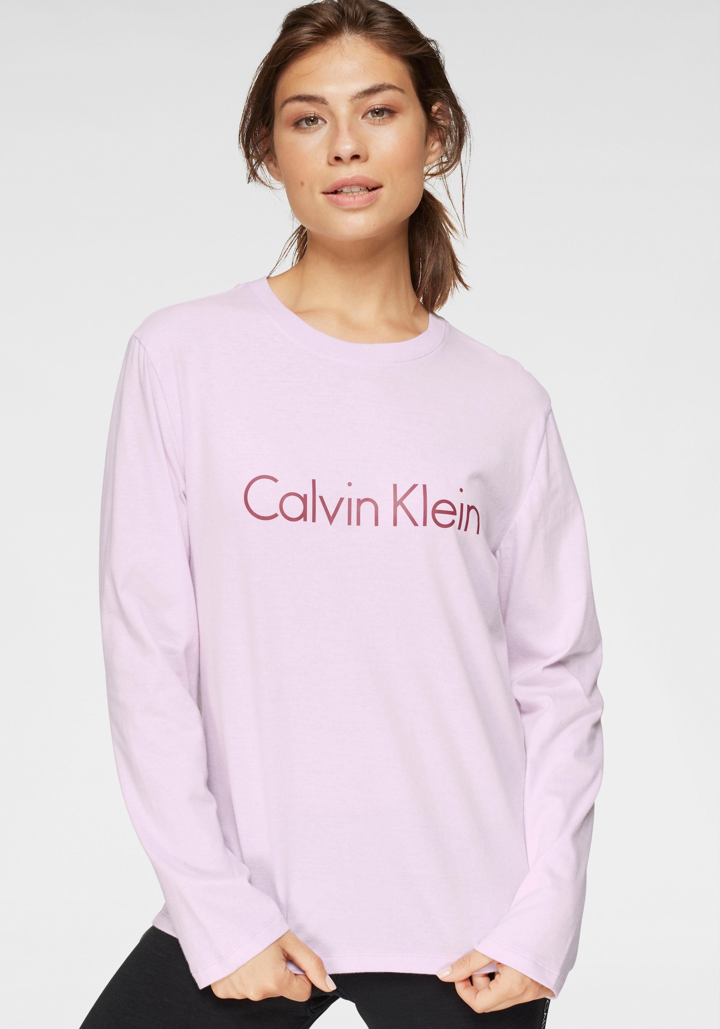 Calvin Klein shirt met lange mouwen en logoprint online kopen op lascana.nl