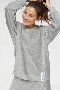 calvin klein sweatshirt grijs