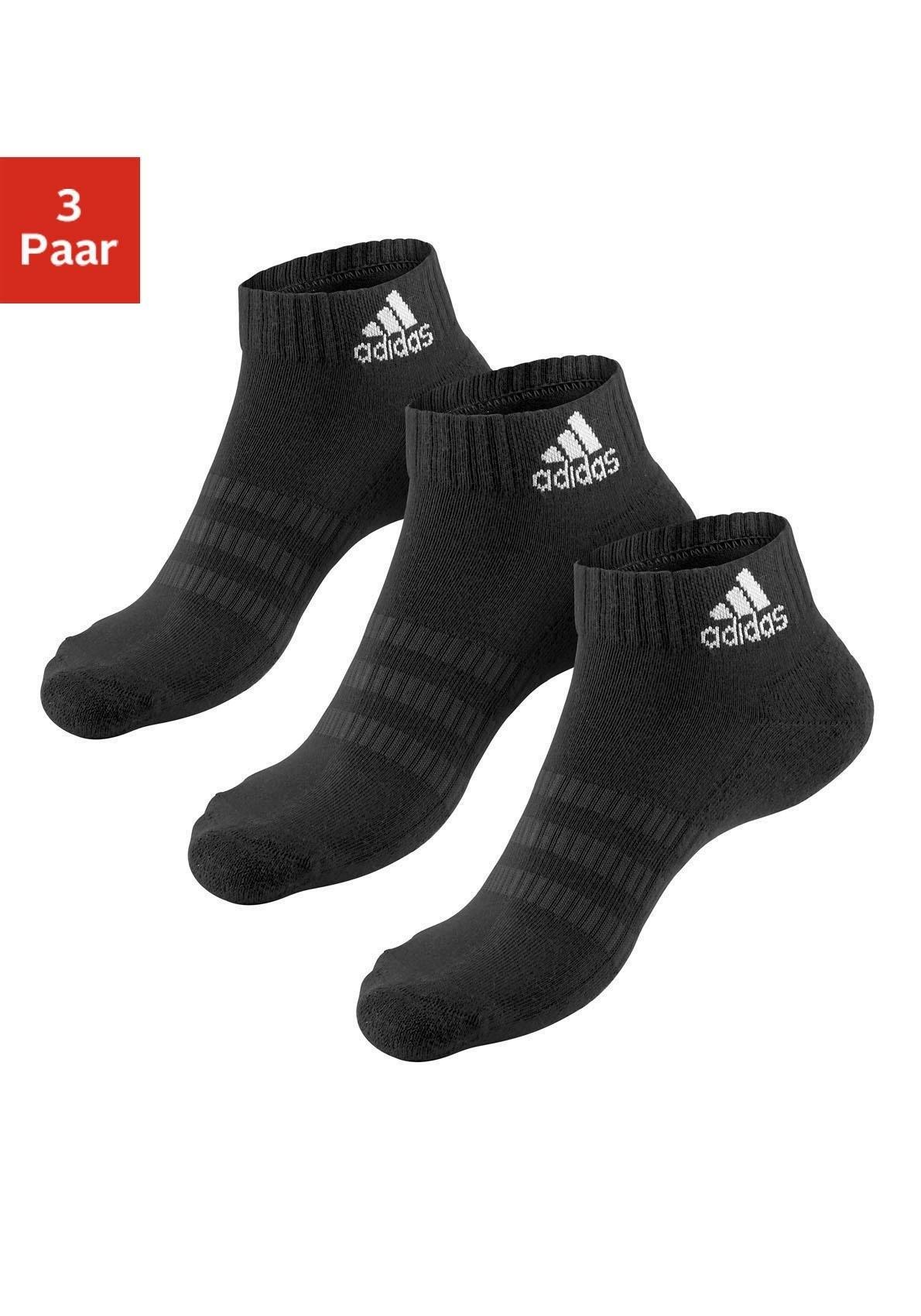 adidas Performance korte sokken met anatomische bekleding (3 paar) nu online bestellen