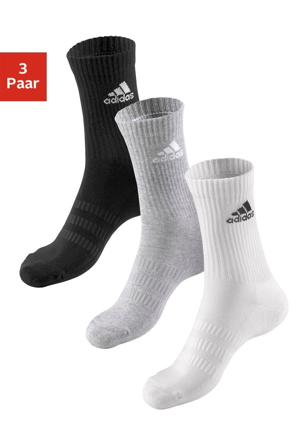 adidas Performance Tennissokken met voetbekleding (3 paar) bestellen: 30 dagen bedenktijd