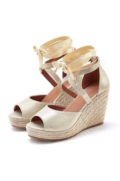 lascana sandaaltjes goud