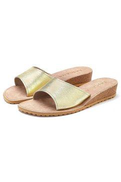 lascana slippers goud