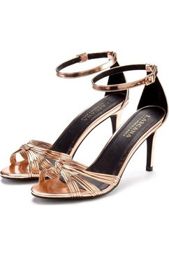 lascana sandaaltjes met glitter goud