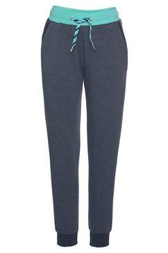 s.oliver bodywear relaxbroek blauw