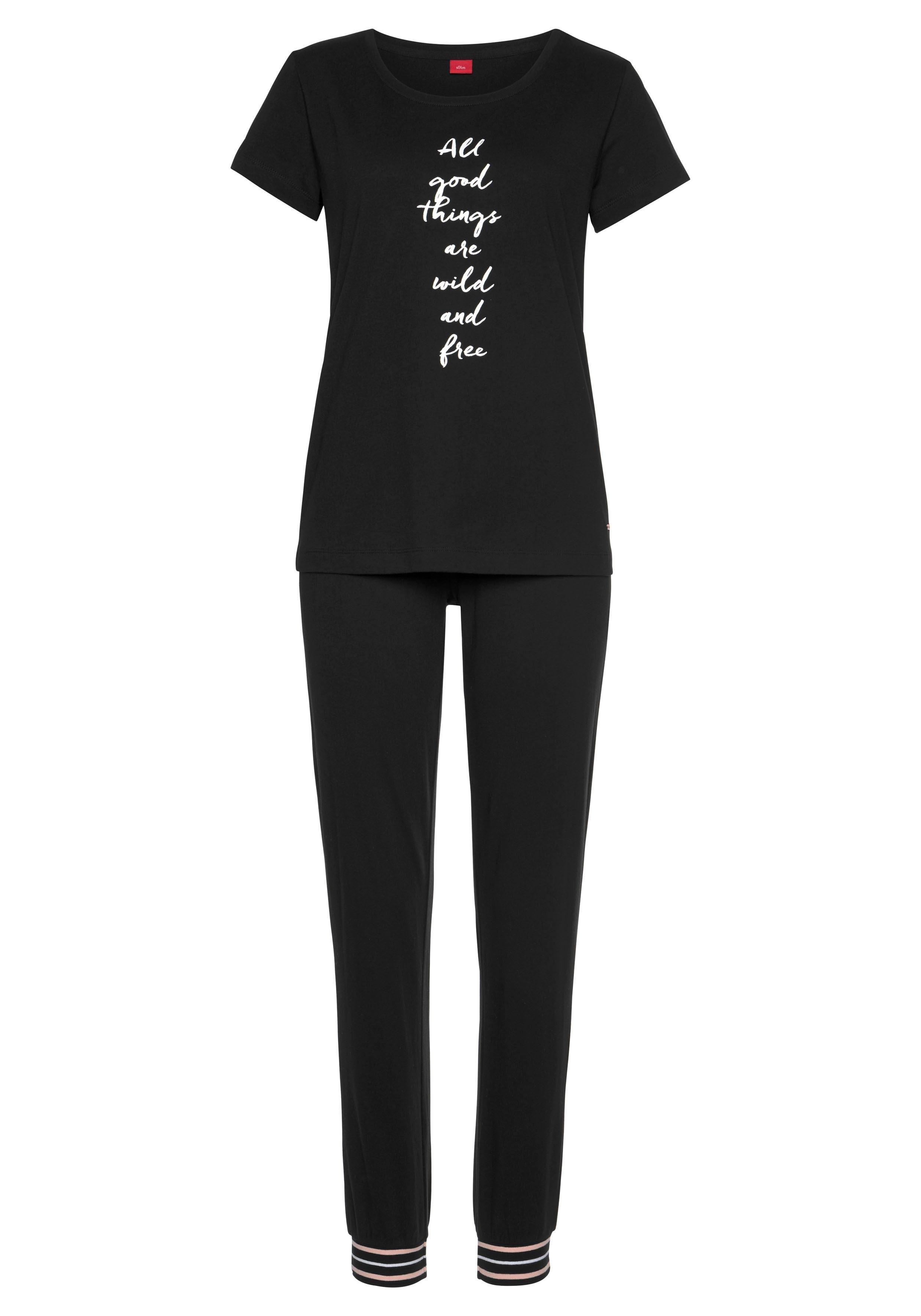 S.oliver Bodywear pyjama - gratis ruilen op lascana.nl
