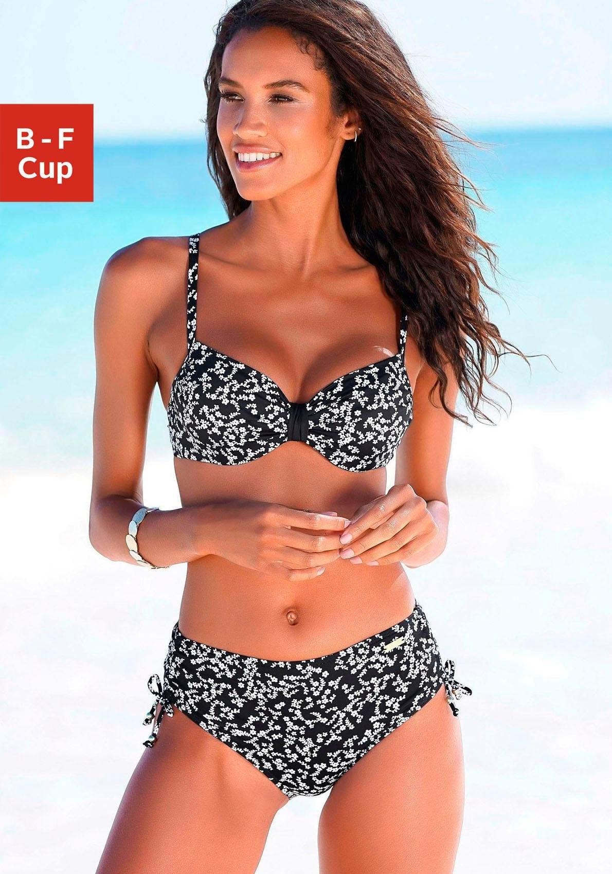 Lascana bikinitop met beugels Weide in de webshop van Lascana kopen