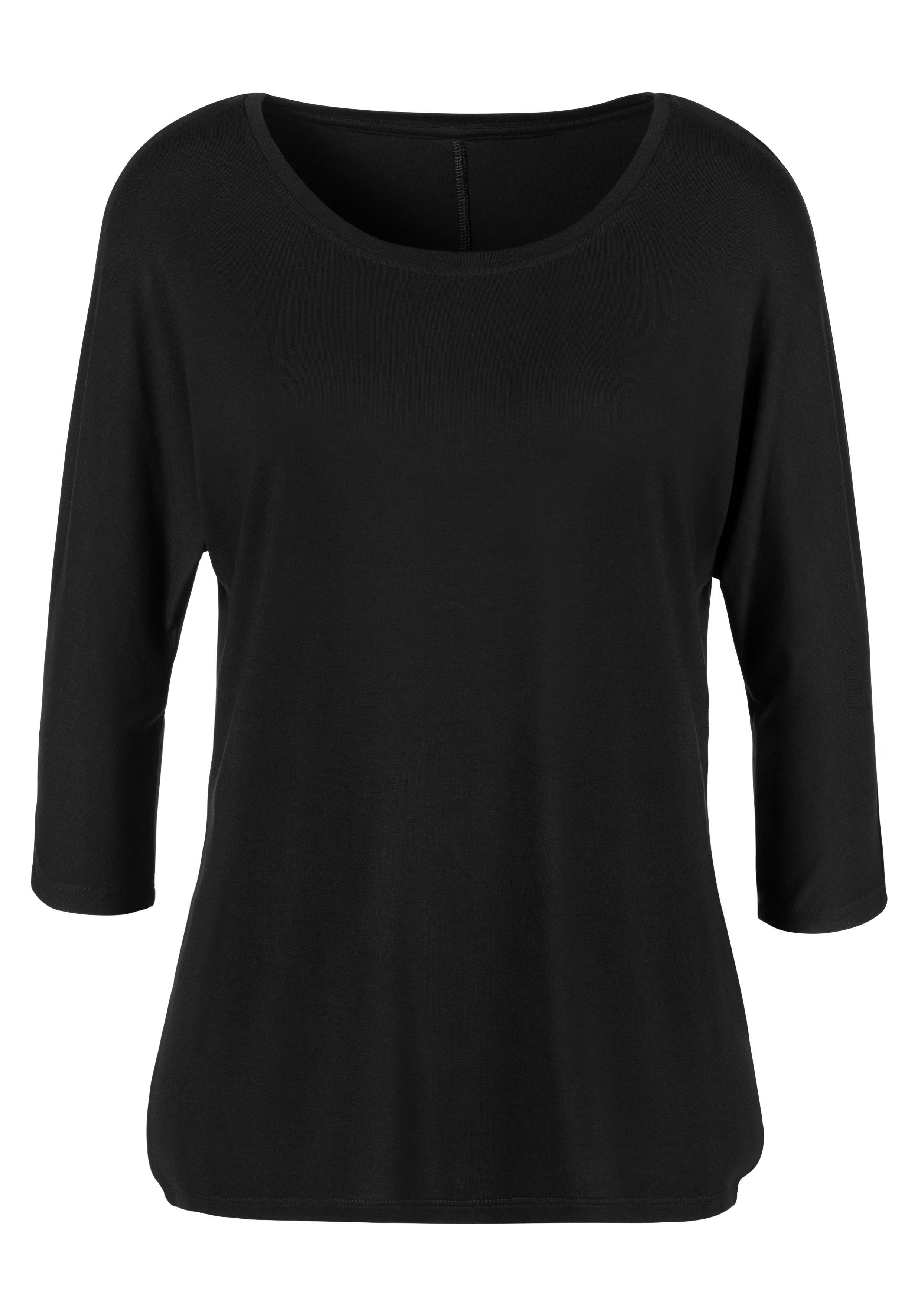 LASCANA shirt met 3/4-mouwen goedkoop op lascana.nl kopen