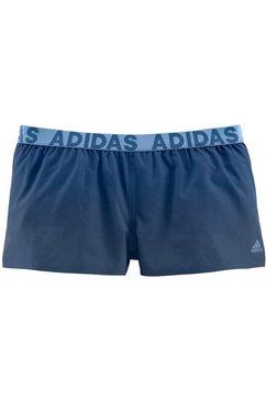 adidas performance zwemshort met merkopschriften blauw