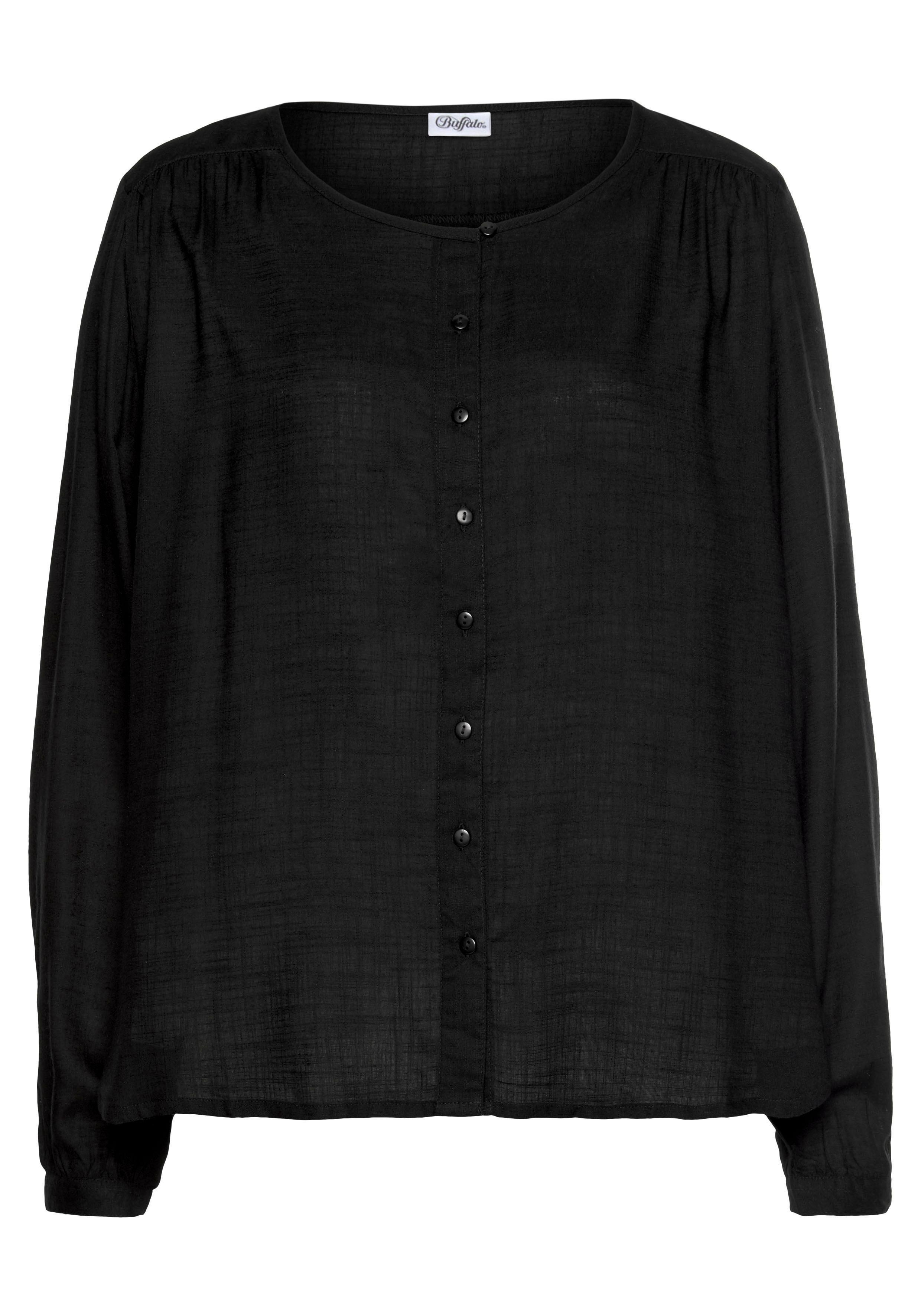 Buffalo blouse zonder sluiting met knoopsluiting bestellen: 30 dagen bedenktijd