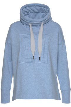 elbsand sweatshirt »birte« blau