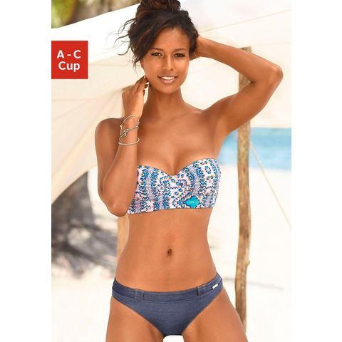 Sunseeker balconette-bikinitop April met modieuze print