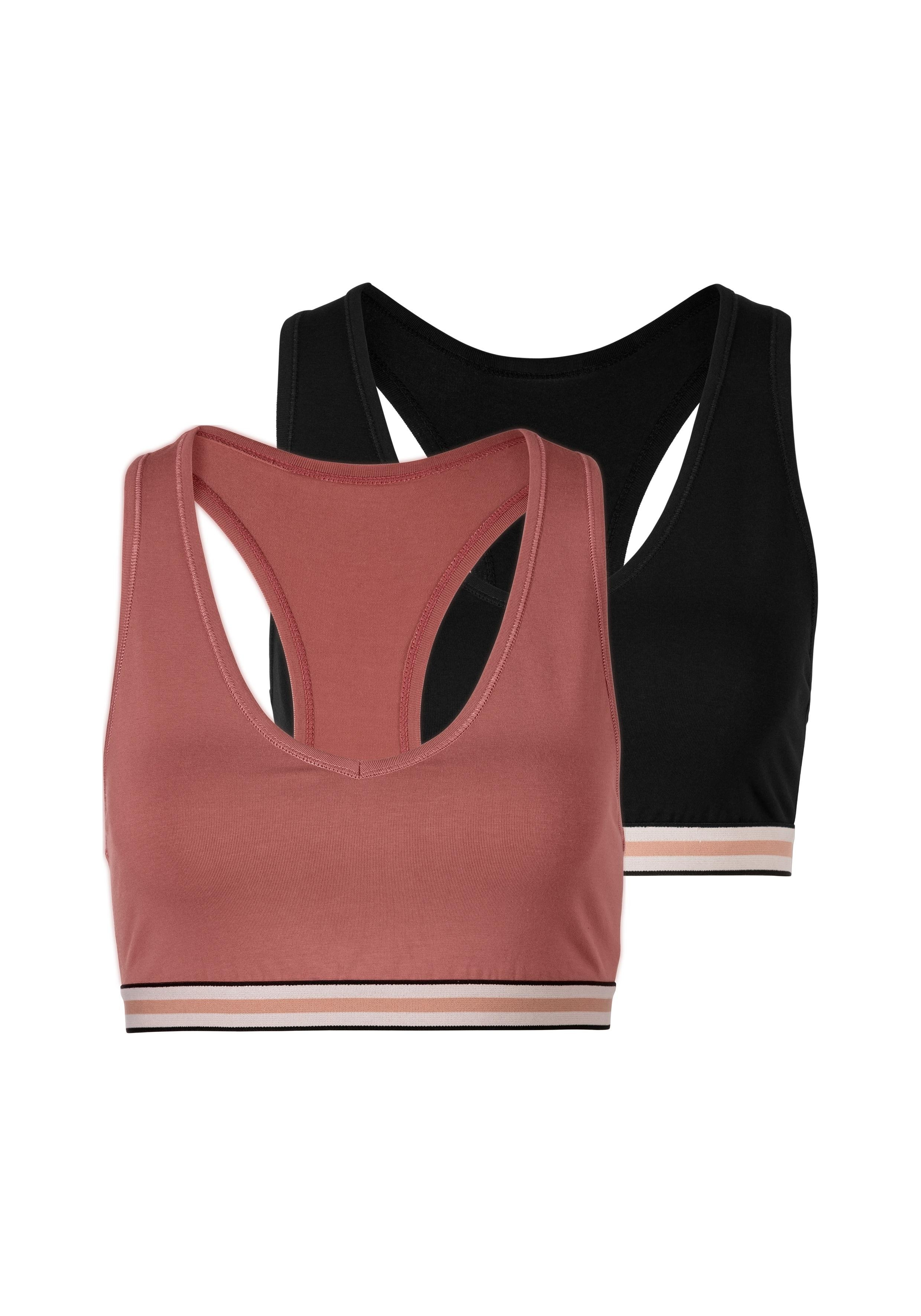 S.oliver Bodywear s.Oliver RED LABEL Bodywear meisjesbustier (set van 3) in ton-sur-tonkleuren nu online bestellen