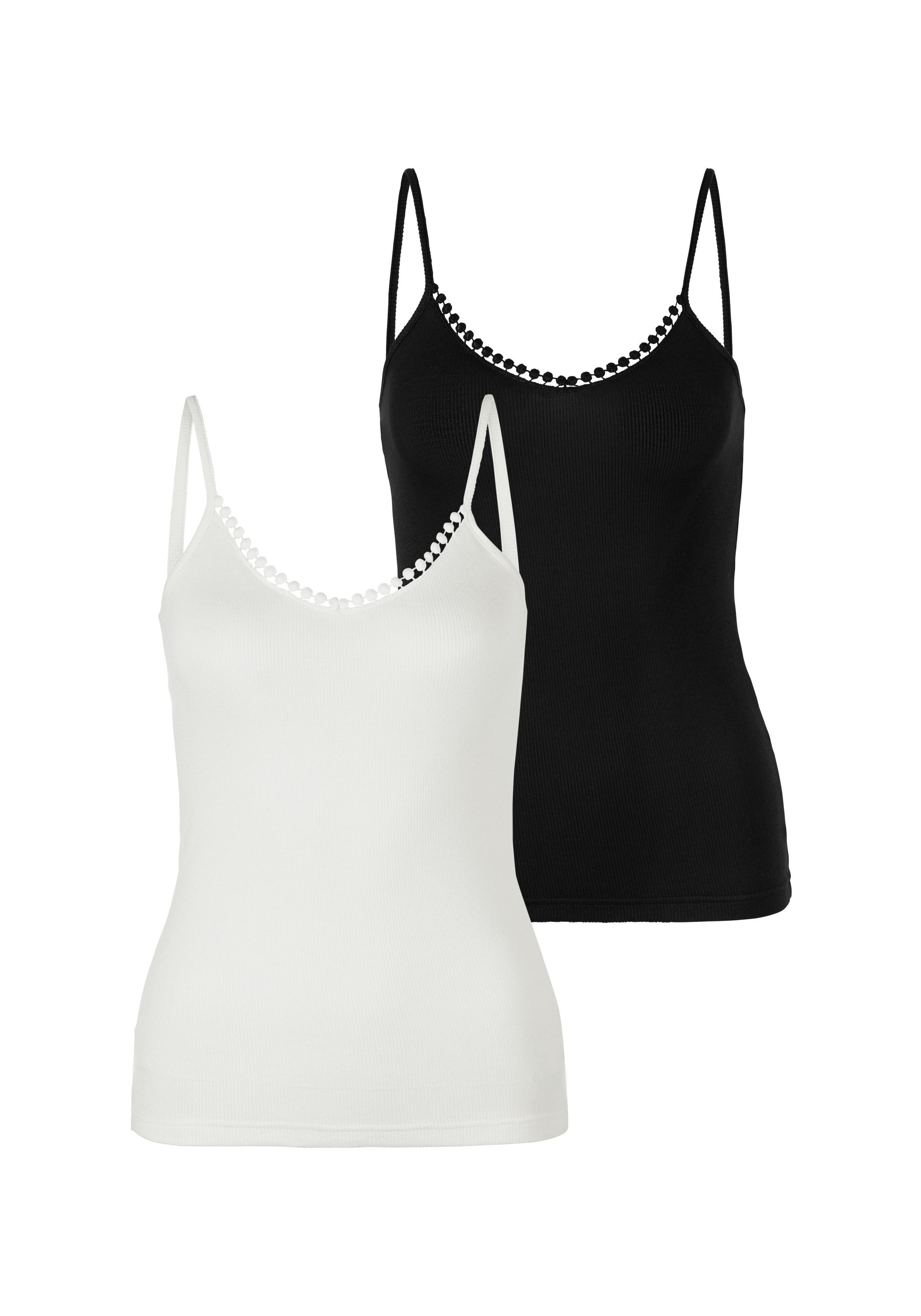 S.oliver Bodywear top met spaghettibandjes veilig op lascana.nl kopen
