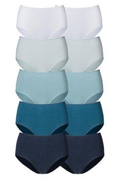 go in tailleslip in frisse effen kleuren (10 stuks) blauw