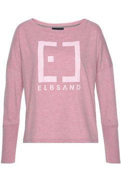 elbsand shirt met lange mouwen »ingra« roze