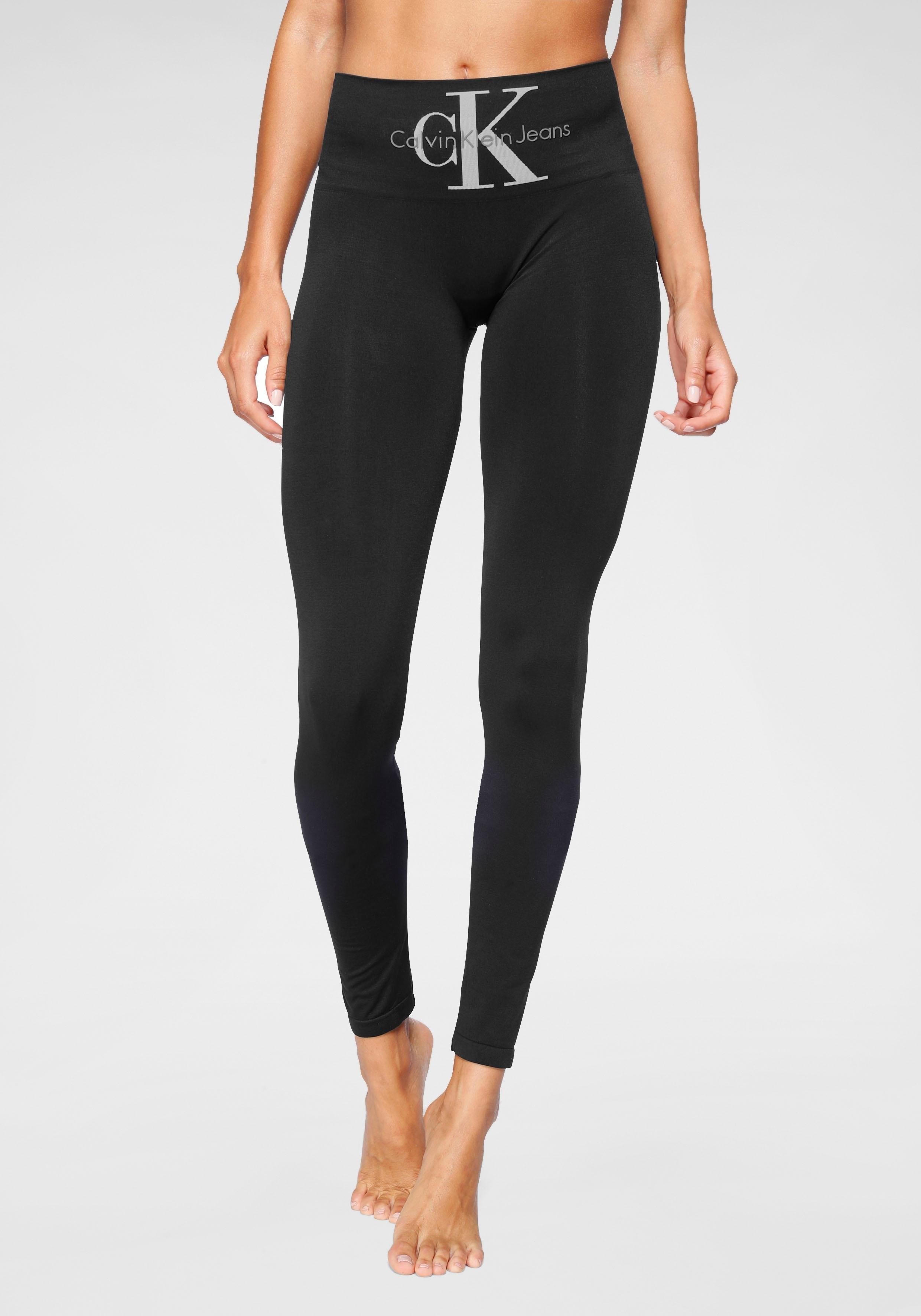 Calvin Klein legging met brede modellerende band bij Lascana online kopen