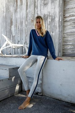 bench. legging »basic tricolour« grijs