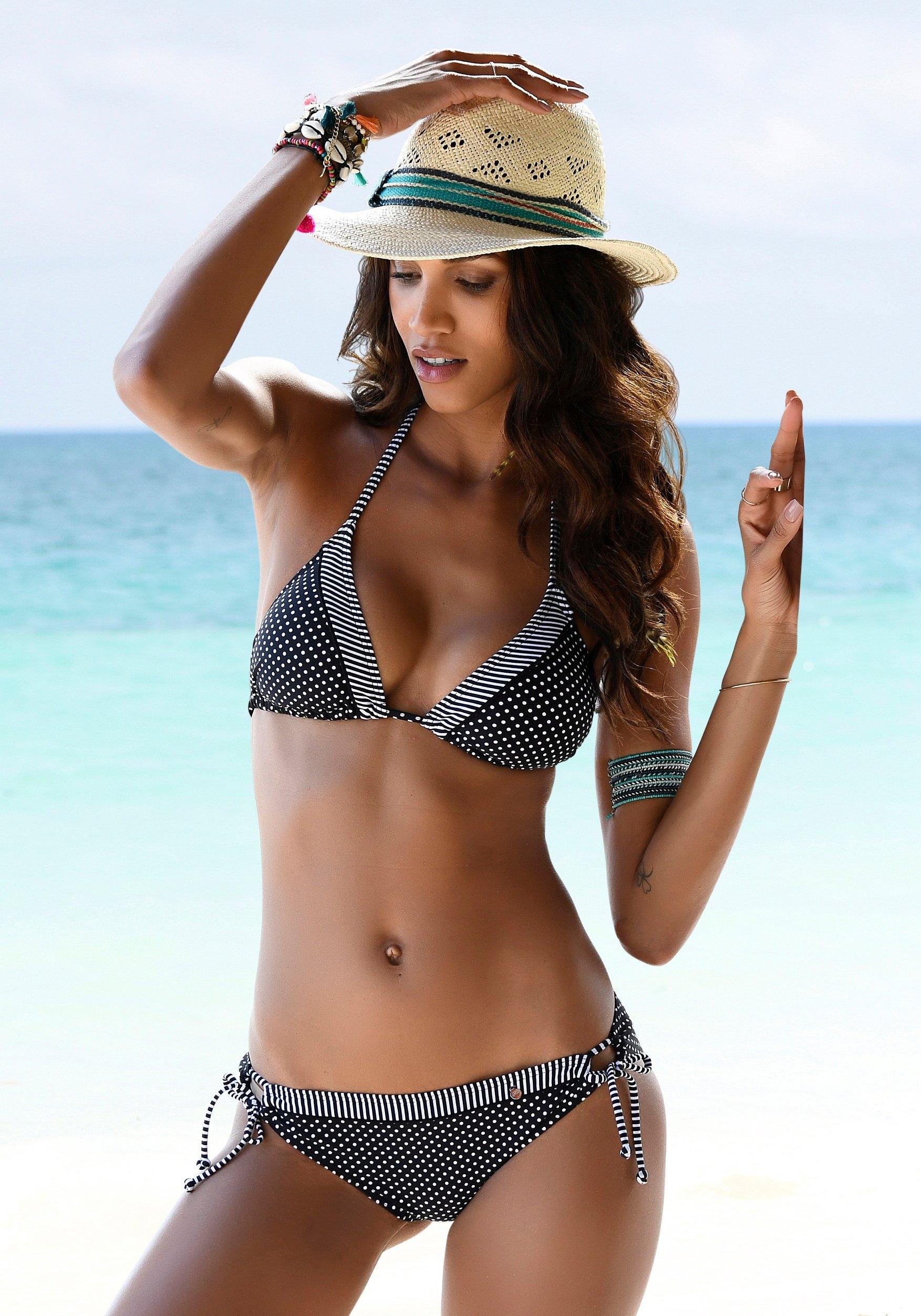 s.Oliver RED LABEL Beachwear bikinibroekje Avni met afgezette sierriem bestellen: 30 dagen bedenktijd