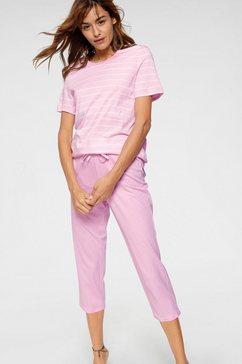 schiesser capri-pyjama roze