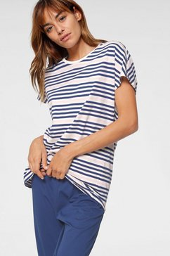 seidensticker capripyjama blauw