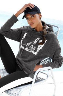 lascana sweatshirt grijs