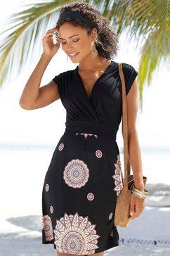 beachtime strandjurk schwarz