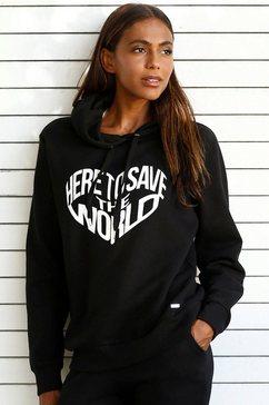 buffalo hoodie zwart