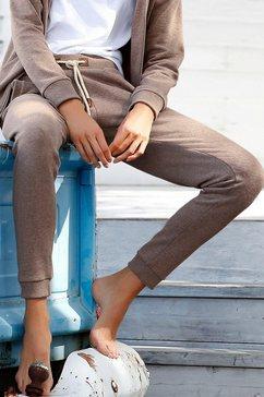 bench. sweatbroek »basic tricolour« bruin