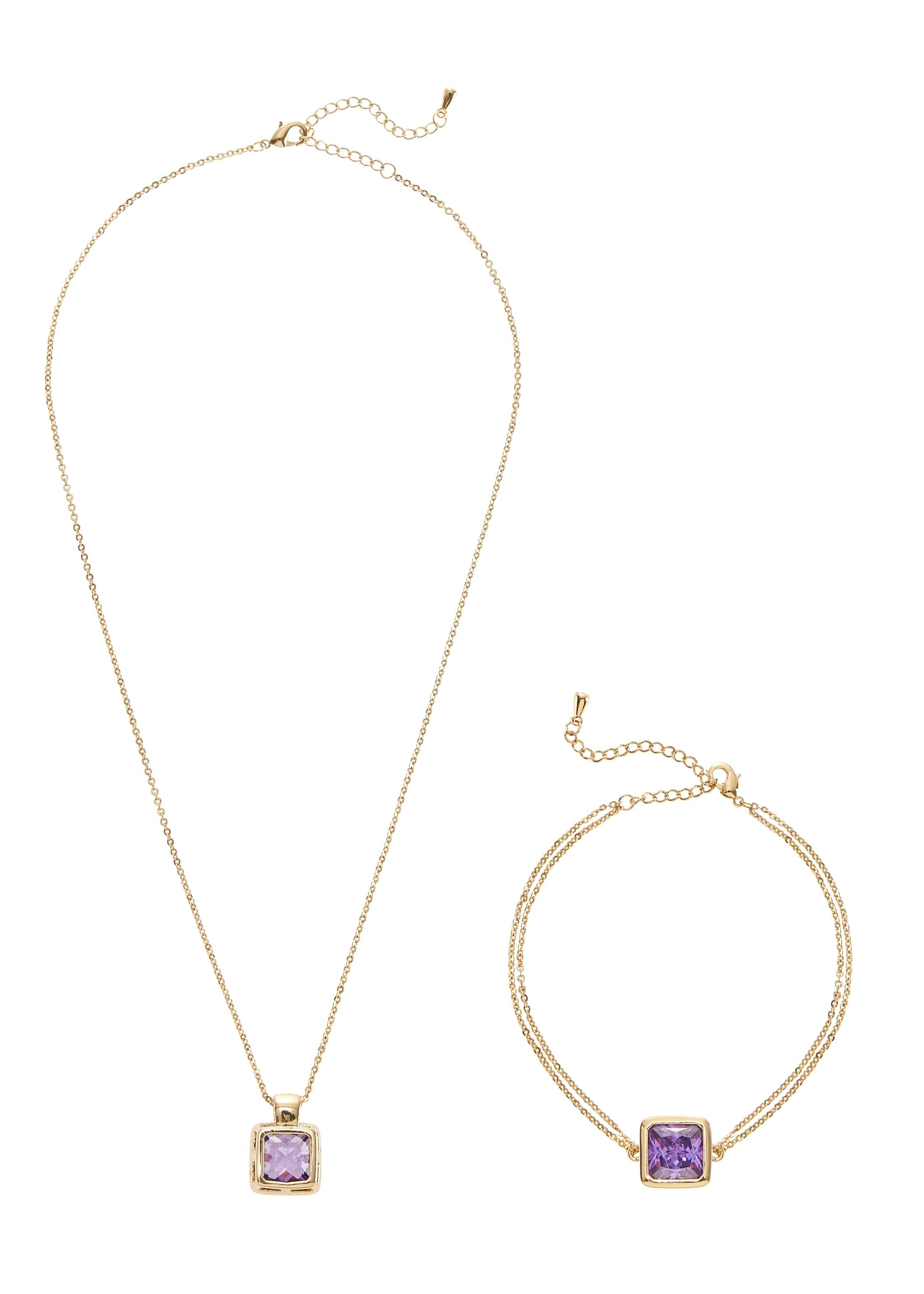 LASCANA armband en ketting (2-delige set) bij Lascana online kopen