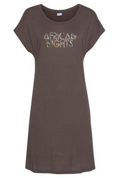 lascana nachthemd bruin