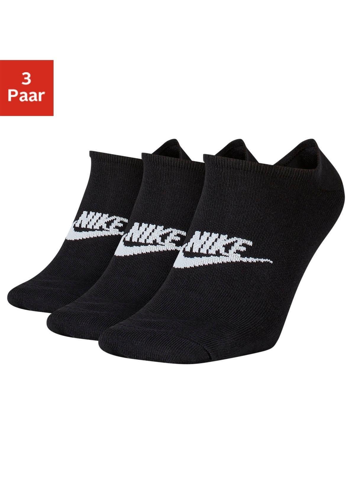 Nike sneakersokken met logo op de middenvoet (3 paar) in de webshop van Lascana kopen