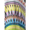 beachtime lang shirt met grafische print multicolor