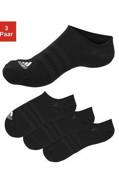 adidas performance kousenvoetjes onzichtbaar in de schoen zwart