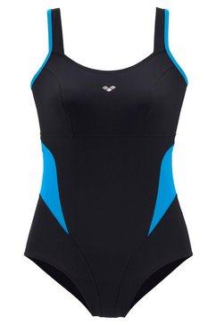 arena badpak met verstelbare schouderbanden zwart