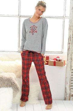 lascana pyjama rood