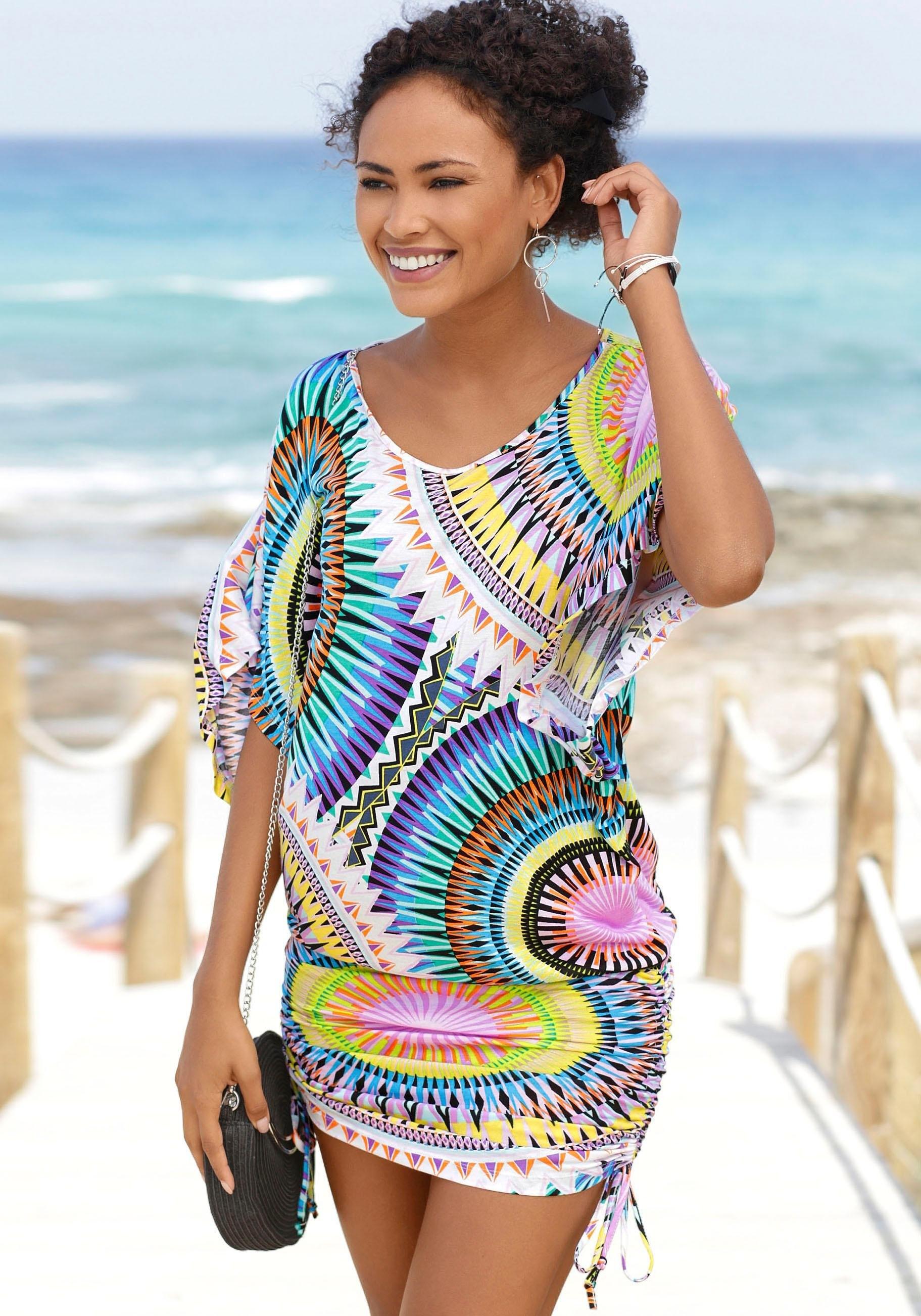 Beachtime lang shirt met grafische print nu online bestellen