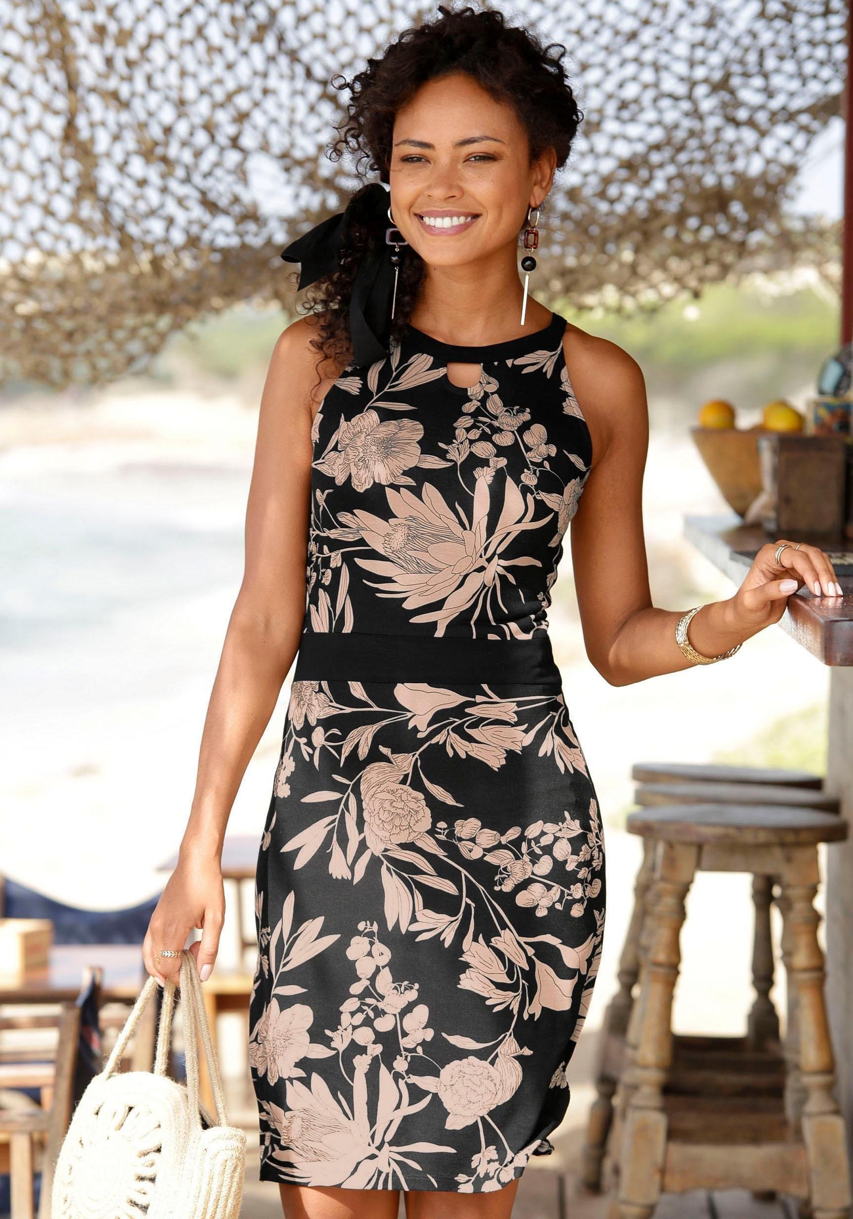 LASCANA gedessineerde jurk nu online kopen bij Lascana