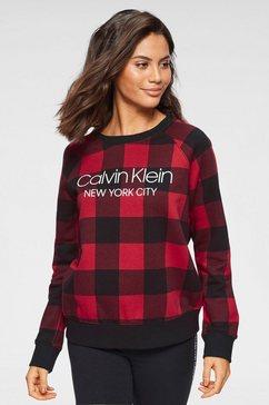 calvin klein sweatshirt rood