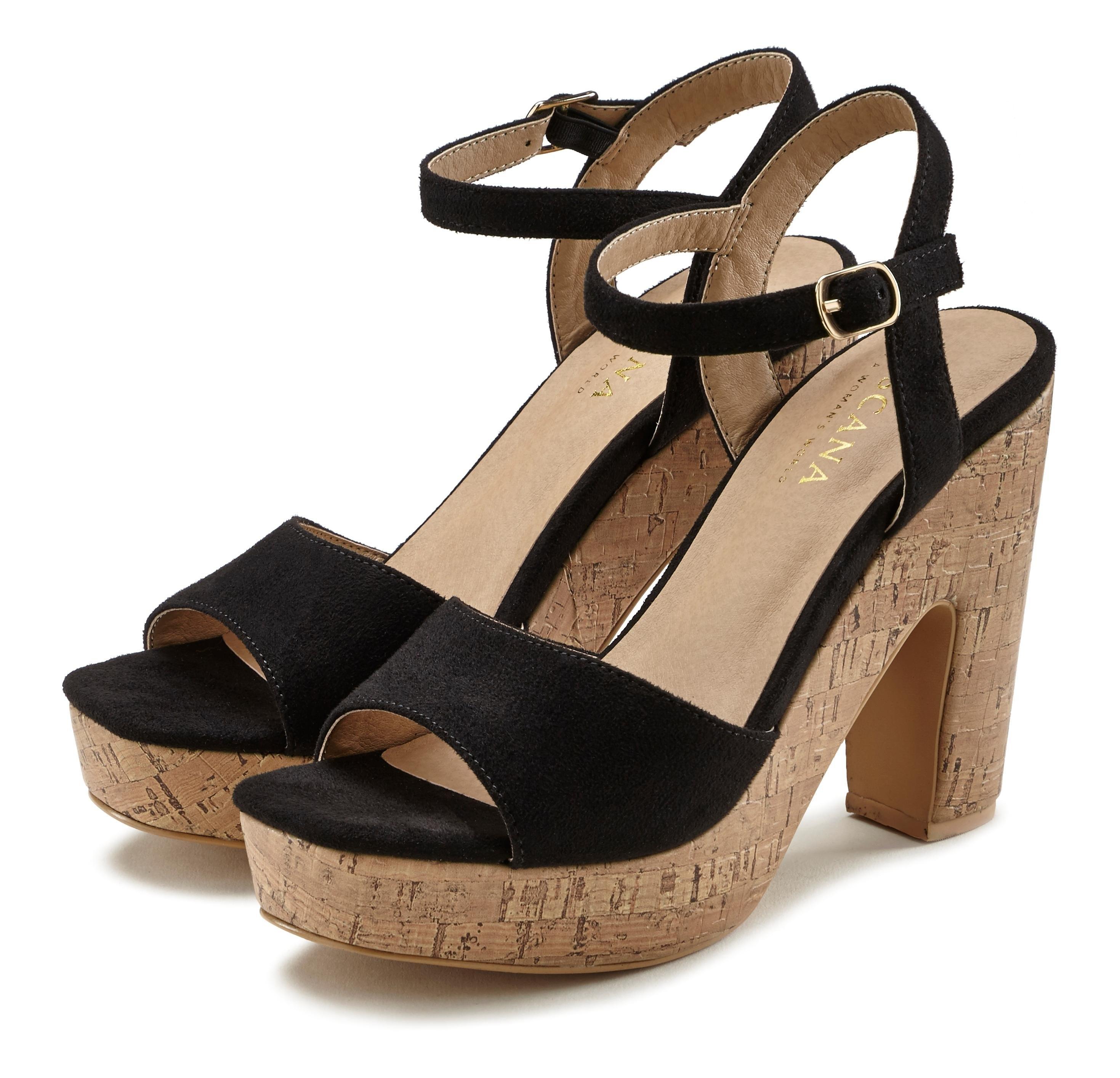 Lascana Highheel sandaaltjes met blokhak online kopen op lascana.nl