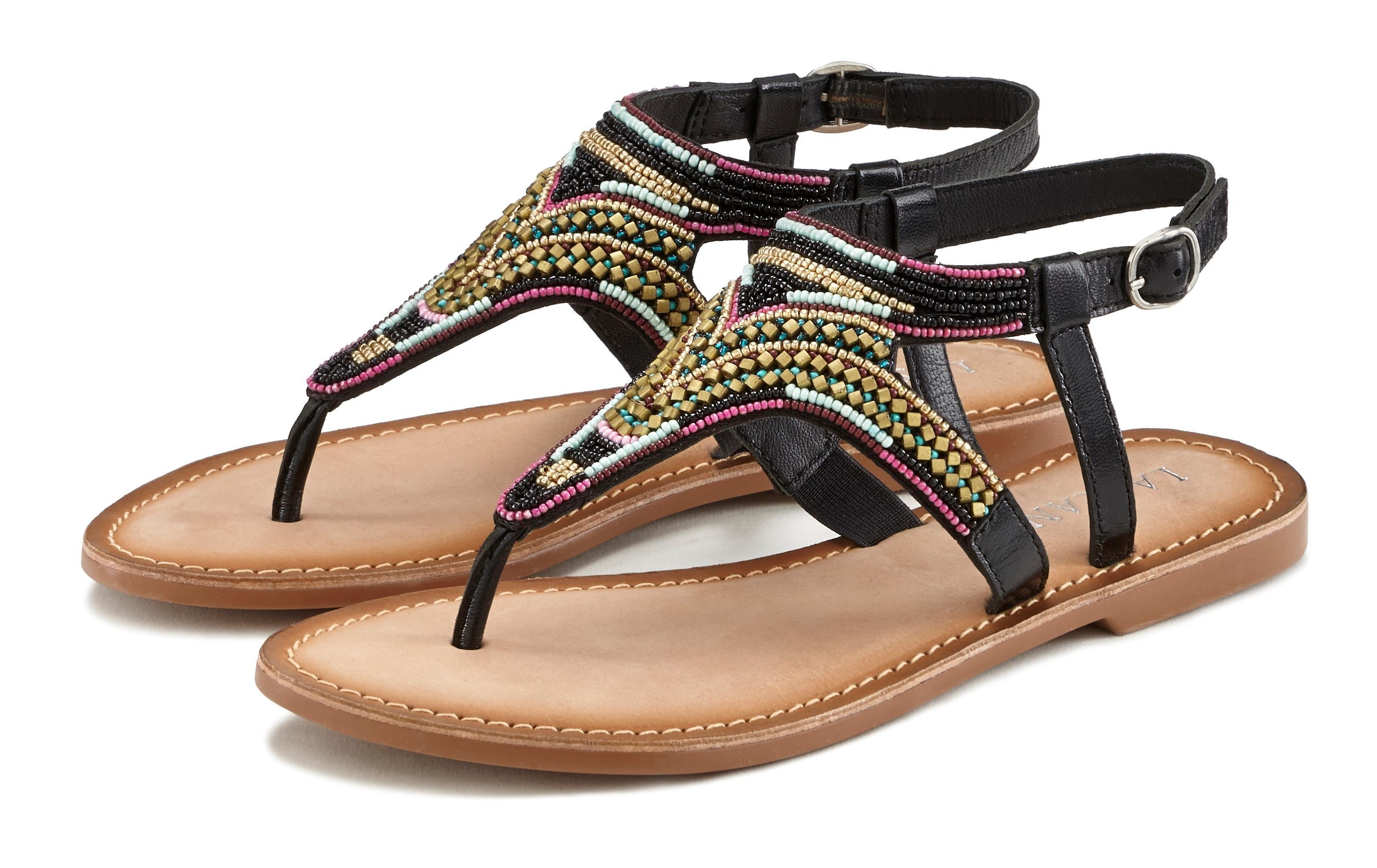 Lascana sandalen met luxueuze garnering veilig op lascana.nl kopen