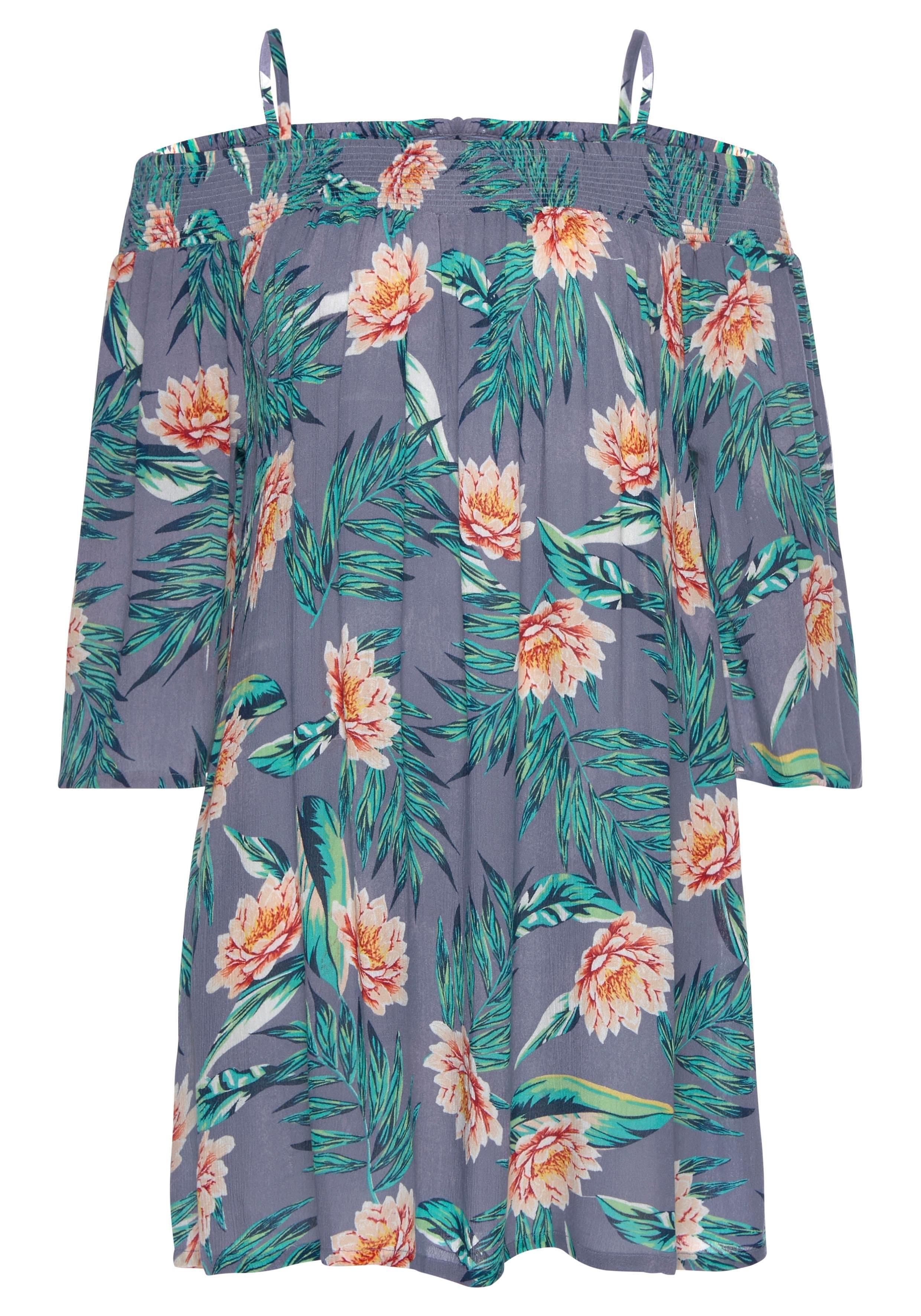 Op zoek naar een s.Oliver RED LABEL Beachwear strandjurk met bloemenprint? Koop online bij Lascana