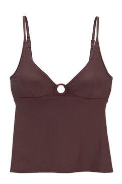 s.oliver beachwear tankinitop »rome« bruin