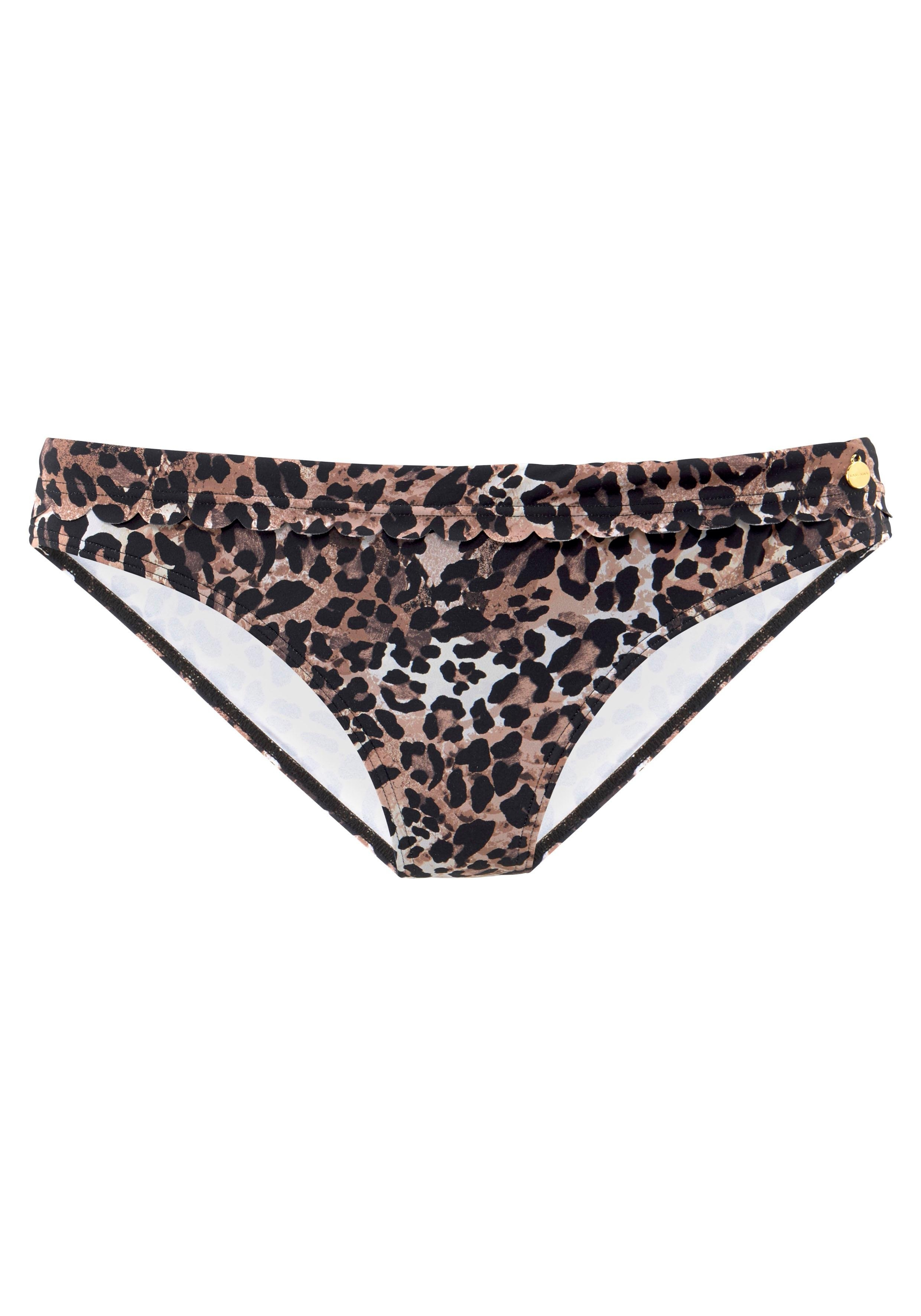Lascana bikinibroekje Lexa met omslagband en schulprandjes bij Lascana online kopen